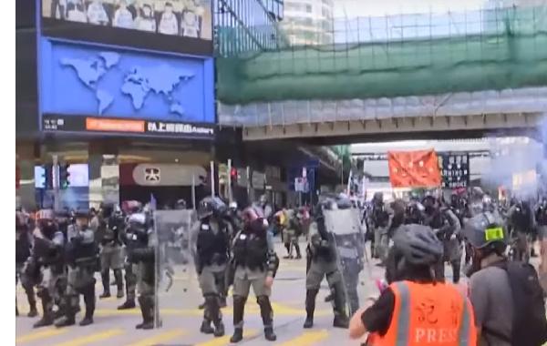 香港のデモに巻き込まれて日本人男性に暴行被害。警察に拘束される大学生も。